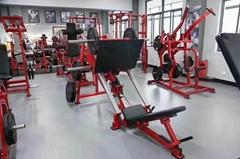 室内健身器材 45度倒蹬机 悍马系列训练器 练习腿的健身器材有哪些