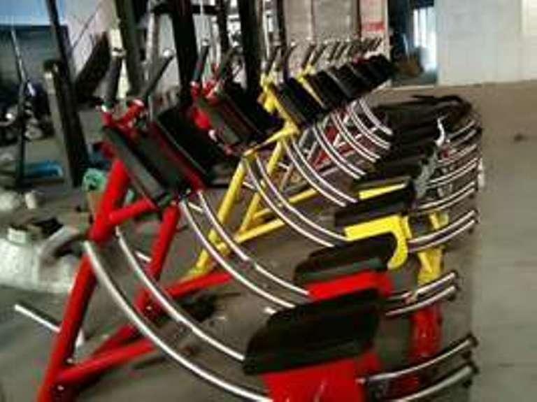 健腹機練習器 健身器材廠家 美腰機練習器 4