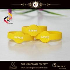 Waterproof 13.56MHz Passive RFID Wristband