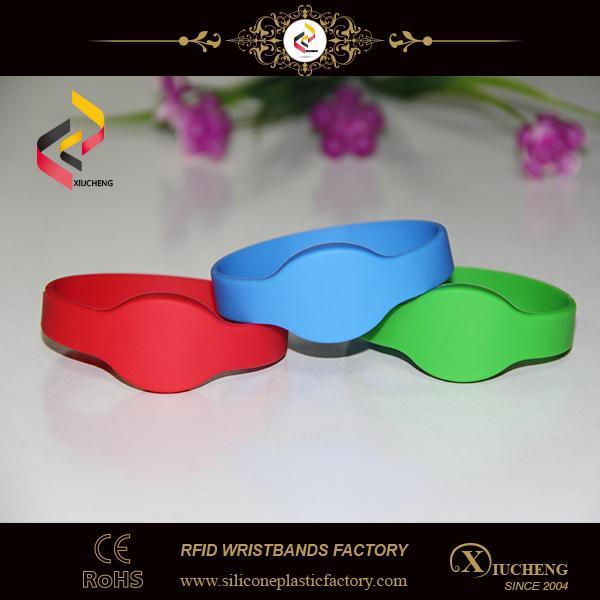 Silicone RFID Wristband NFC Bracelet 4