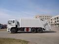 20T rear loading compressor garbage truck  2
