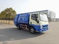 5T rear loading compressor garbage truck 2