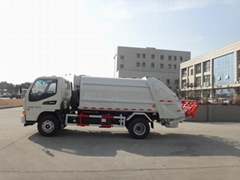8T rear loading compressor garbage truck