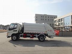 8T rear loading compressor garbage truck