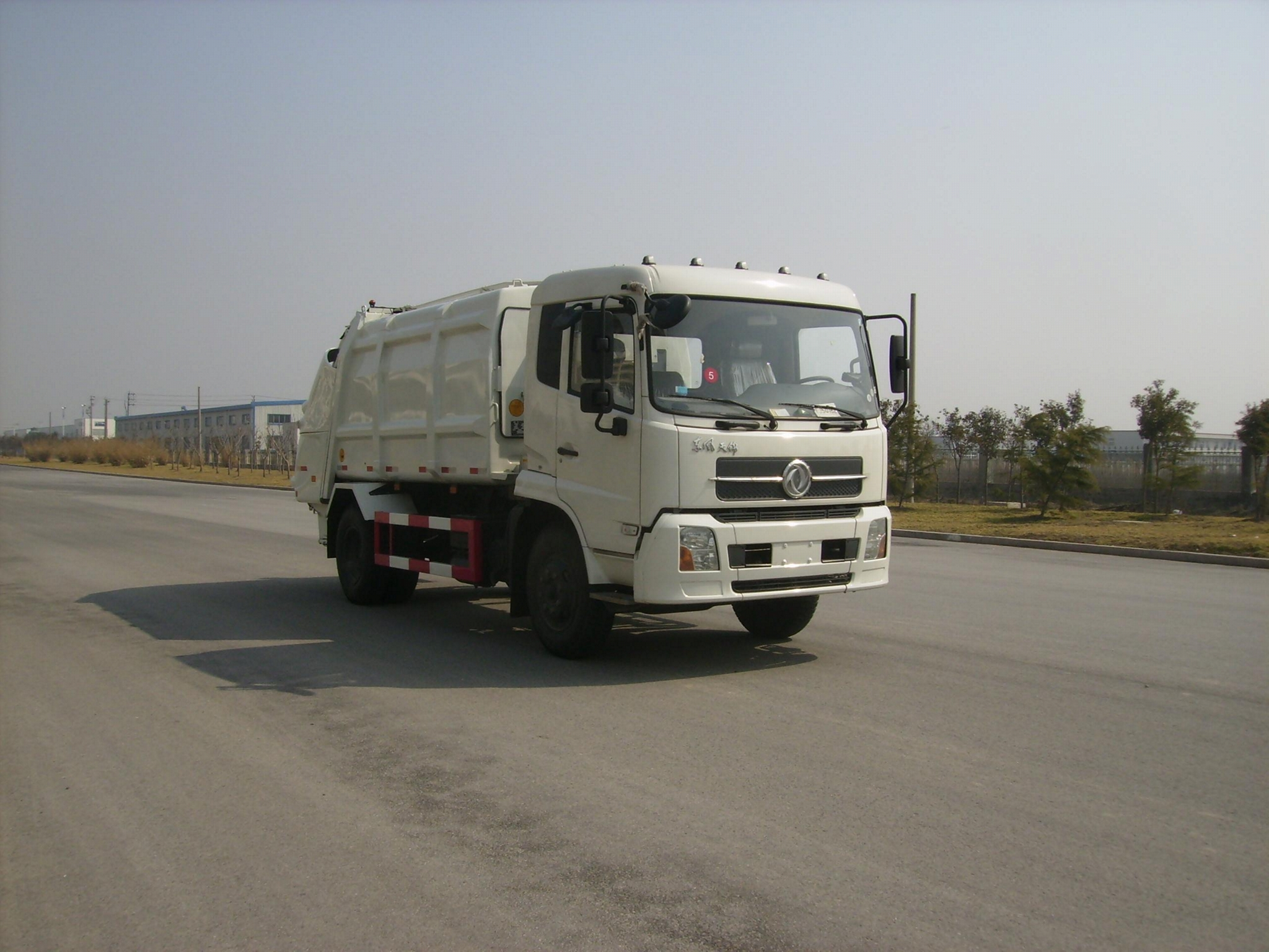 10T rear loading compressor garbage truck 0 2