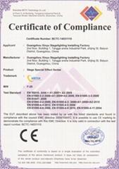 EN55032 of CE Certificate