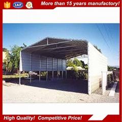 2017 new modern hot dip galvanized easy Installation waterproof metal carport