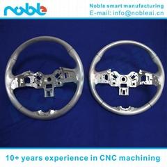 Car Steering Wheel Prototyping of aluminium