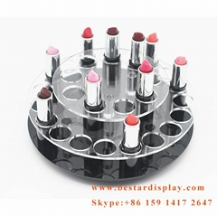 Best seller good quality rotating acrylic lipstick holder