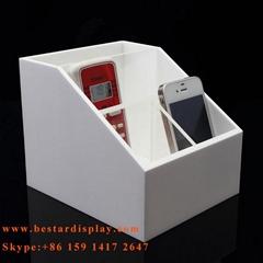 Good munufacturer Plexiglass PMMA acrylic storage box with dividers