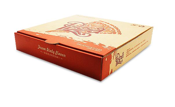 China cheap custom pizza packaging box wholesaler 3