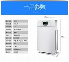 HC-D300臥室家用淨化器靜音環保節能APP遠程遙控