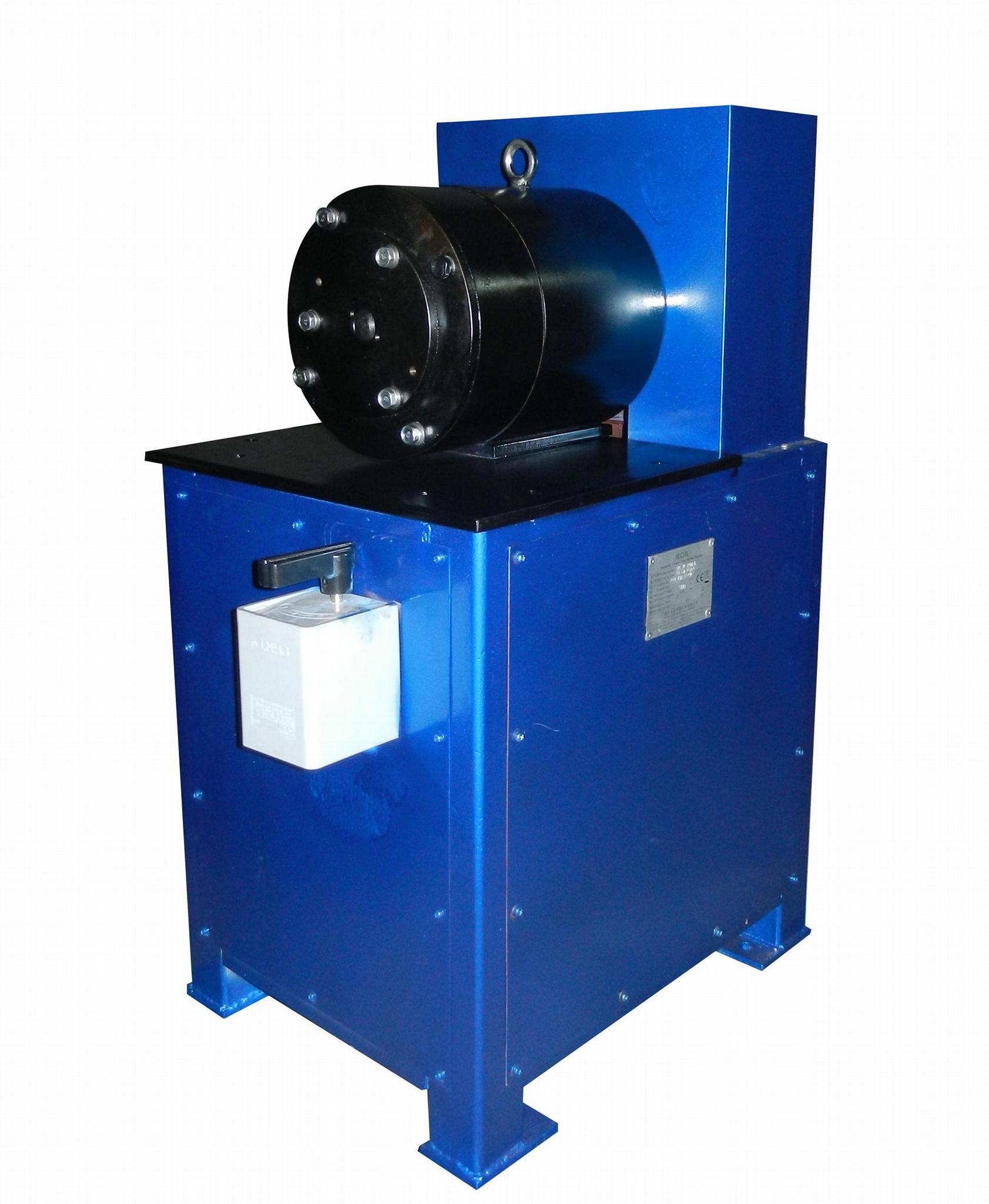 銅鋁管縮口機 1