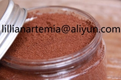 Red color artemia cysts made in china high hatching rate