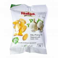 Crispy PEANUT Garlic Snack (Tan Tan Jolie 84983587558)