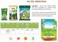 Crispy GREEN PEAS SALT snack (Tan Tan Jolie 84983587558) 2