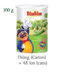 Crispy GREEN PEAS Wasabi Coconut snack  (Tan Tan, Jolie 84983587558) 2