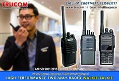 High Quality Long High range walkie talkie radio in India