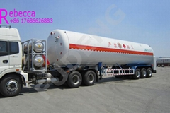 FUDENG lng tank truck trailer semi lng tanker trailers for sale