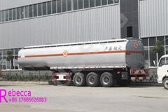 50000L 3 Axle Fuel Transport Tanker Trailers Oil Tank Semi Trailer Sale