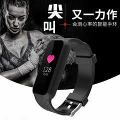 Color screen bracelet heart rate monitor