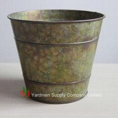 copper patina flower box