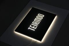 Luminous Programmable Custom Led Sign Super-thin Light Box Names for Shops