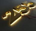 LED Back Lighted Metal Alphabet 3d