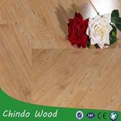 waterproof wood panels indoor laminate flooring for bedroom and hotel