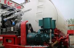 2 3 4 Axles 30 40 50 m3 Cbm dry bulker pneumatic powder Cement Tanker Trailer