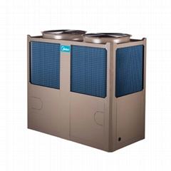 商用美的3匹空气能热水器
