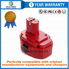 Cellularmega 18V 2000mAh Power Tool Battery for Makita 1822 1823 1834 1835