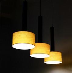 New style hotel decor indoor wooden chandelier pendant lamp fixtures