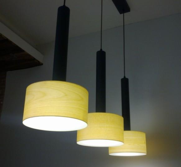 New style hotel decor indoor wooden chandelier pendant lamp fixtures 2