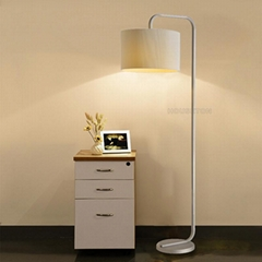 New design nordic home decor fabric contemporary floor lamp