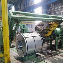 Cold Rolled Coil Bundling Automatic TIG Welding Strapping Machinery