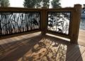 Exterior CNC laser cut panel Outdoor Aluminum decorative facades 1