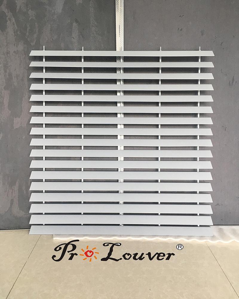 Outdoor louver Parking Louver Screen Aluminum panel louver 1