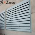 Noise control louver Acoustic louver
