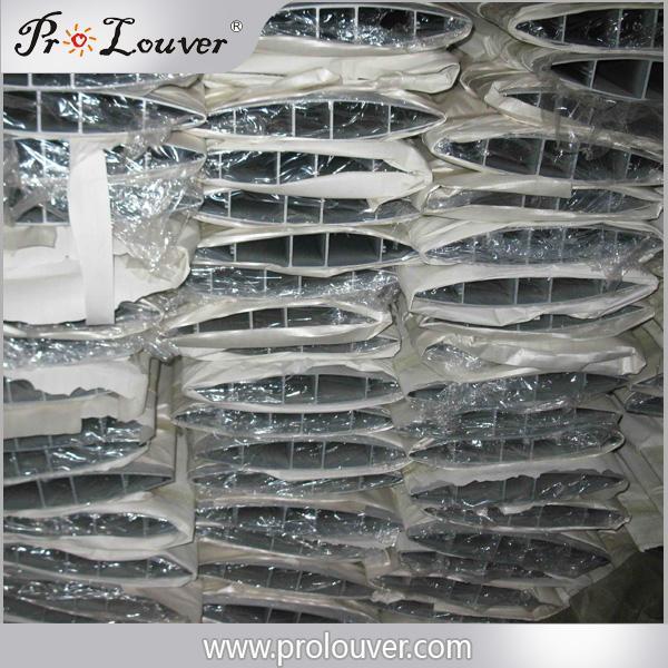 Aerofoil louver blades alunminum louvers 1