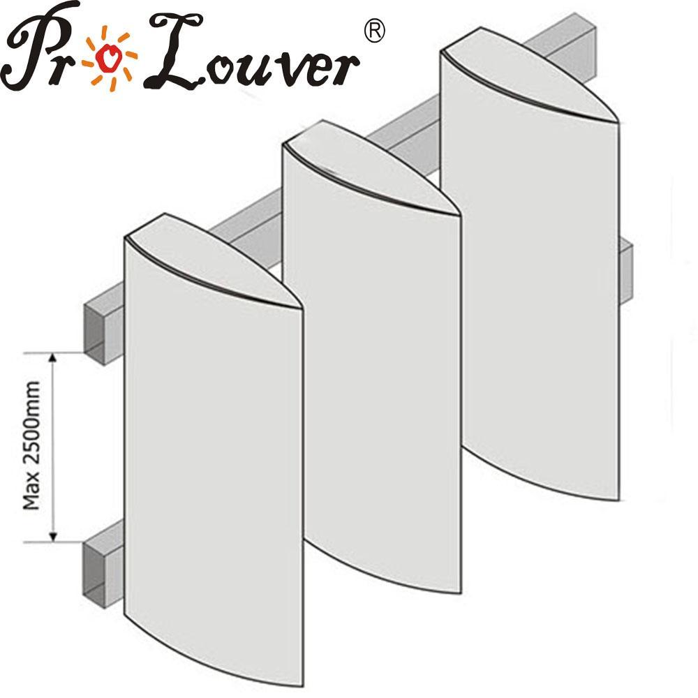 Aerobrise architectural exterior aluminum louvers 1
