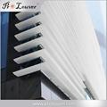 Outdoor aluminum window louver Aerofoil louver blades 1
