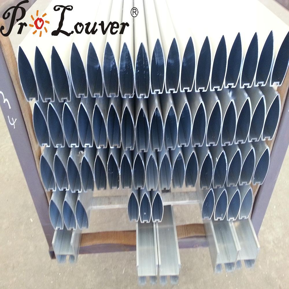 Factory price aerobrise 100 louver blades,aluminum louvers 1