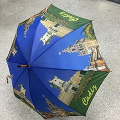 wholesale umbrella with wooden handle