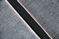 16.8Oz Black Selvedge Denim Fabrics Stock W9308  1