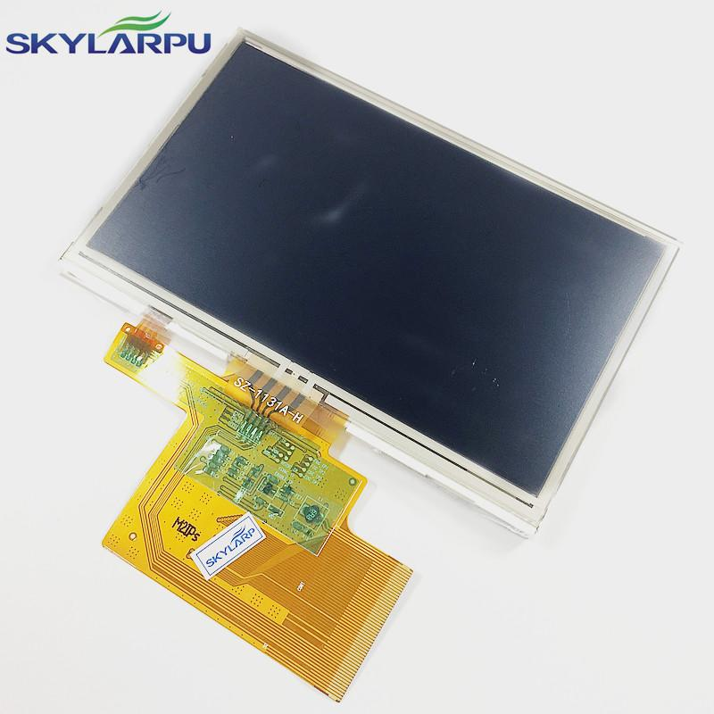 """4.3""""inch LMS430HF19 LCD screen + touch panel for TomTom XL IQ RATES GPS LCD 2"""