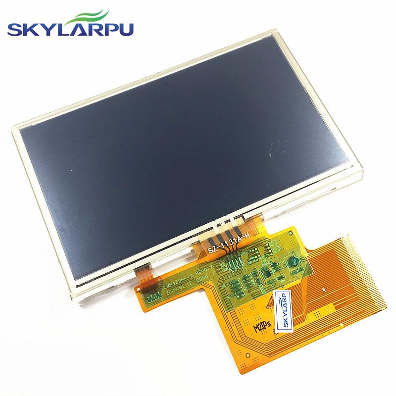 """4.3""""inch LMS430HF19 LCD screen + touch panel for TomTom XL IQ RATES GPS LCD 3"""
