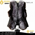 Custom Women Genuine Fur Waistcoat Whole