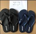 Chinese new design men slippers pvc sandals custom flip flops