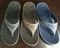 Wholesale Safety health care acupuncture fit massage pvc slippers  1